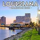 Louisiana Calendar 2022: 16-Month Calendar, Cute Gift Idea For Louisiana Lovers Women & Men