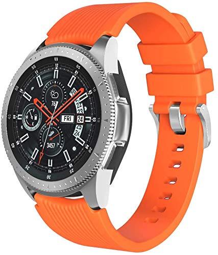 Chainfo Correa de Reloj Recambios Correa Relojes Caucho Compatible con Amazfit GTR 47mm / GTR 2 / Pace/Stratos 3 / Stratos 2S / GTR 2e - Silicona Correa Reloj con Hebilla (22mm, Pattern 3)