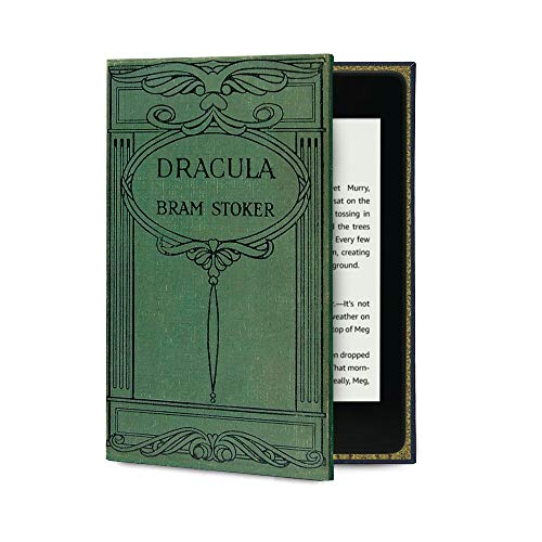 Kindle Paperwhite Case (inc all new versions) Book Cover Style (Bram Stoker's Dracula)