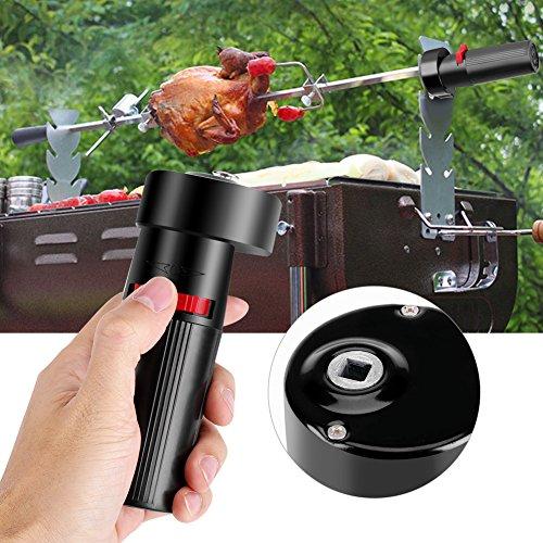 Socobeta Gute Wärmeisolierung Grillmotor Grill Motor Batterie Rotator Motor Küche für Zuhause