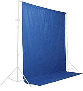 StudioFX Muslin Backdrop 100% Cotton Photography Photo by Kaezi Photo (Blue Chromakey Muslin - 10ft x 10ft)