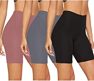 Soft Stretchy Under Dresses Pants for Athletic Workout Running Cycling Yoga Gayhay Biker Shorts for Women