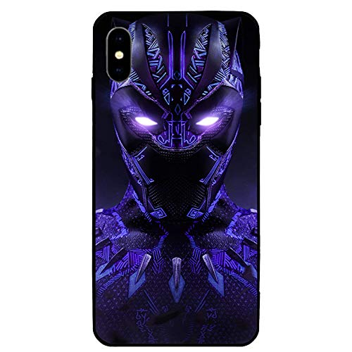 iPhone XR Case 6.1',Comics Case Cover for iPhone XR (Black-Panther-2)