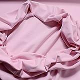 0,5 Meter Baumwolle Elastan Bündchen rosa kbA GOTS C.