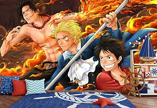 Een stuk Flamme Oorsprong Anime muurpapier muurschildering muurprint sticker muurschildering (H)200*(B)140cm Pro