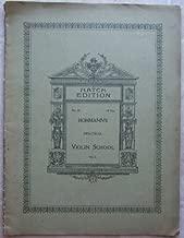 Hohmann's Practical Violin School Hatch Edition No. 20 (Volume 5)