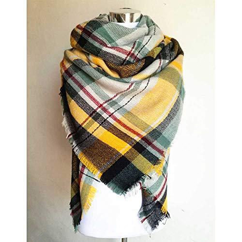 VIGCK Warme Decke Schal Big Square Winter Schals Heißer Verkauf Plaid Frauen Schal Acryl Schals Bufandas Warmer Kaschmirschal