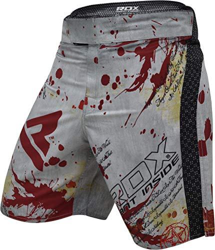 RDX MMA Boxen UFC Shorts Kampfsport Trainingshorts Kurze Sporthose Muay Thai Fightshorts,Gr.M