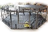Speedwellstar - Alfombrilla para Mascotas, Impermeable, Universal, Color Negro, Alfombra, Estera, Base, Suelo, extra grande (jaula no incluida)