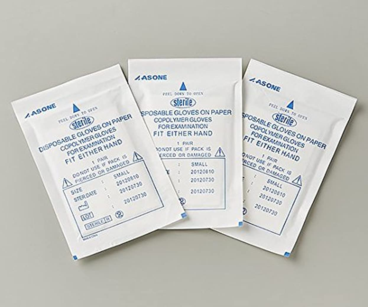 突き刺すコンテスト傷つきやすいアズワン1-1339-03EVA手袋未滅菌S