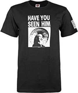 Powell-Peralta Animal Chin Have You Seen Him? Black T-Shirt, XX-Large
