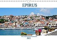 Epirus - Das urspruengliche Griechenland (Wandkalender 2022 DIN A4 quer): Westgriechenland - Von Parga bis zur Halbinsel Lefkas (Monatskalender, 14 Seiten )
