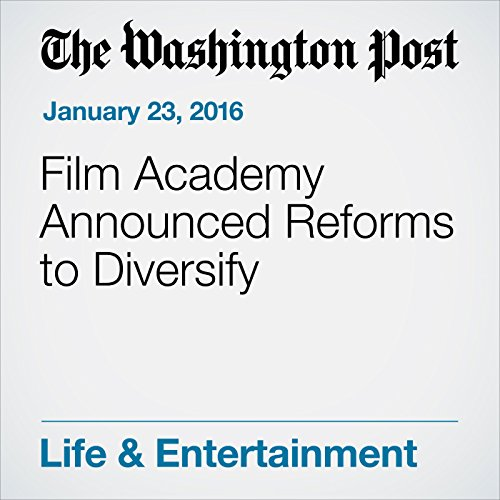 Film Academy Announced Reforms to Diversify audiobook cover art