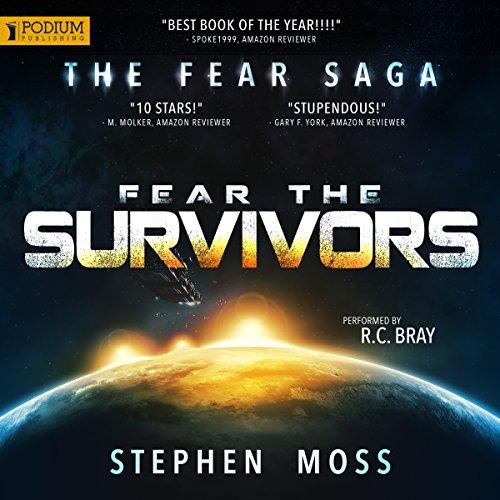 Fear the Survivors audiobook cover art