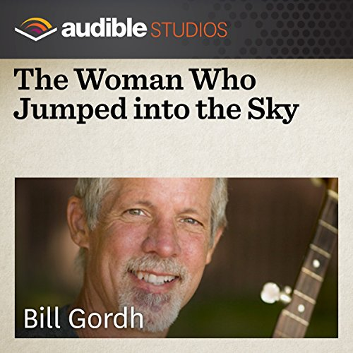 The Woman who Jumped into the Sky audiobook cover art