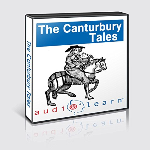 The Canterbury Tales: AudioLearn Study Guide audiobook cover art