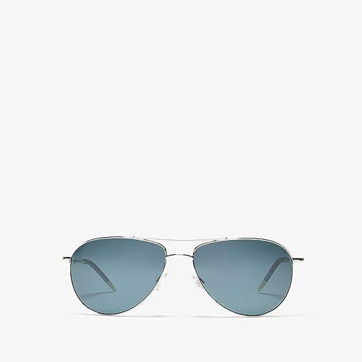Silver/Blue Lens