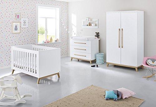 Pinolino 103415B Kinderzimmer 'Riva' breit, weiß