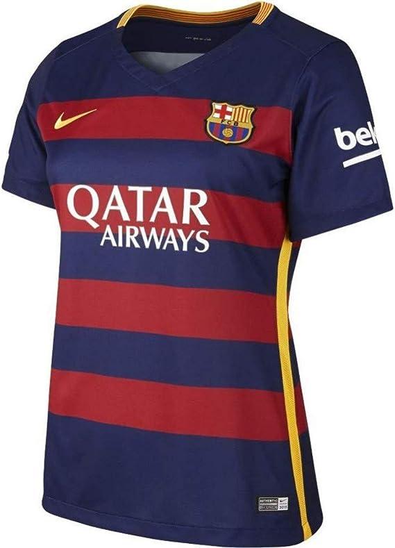 NIKE 1ª Equipación Fútbol Club Barcelona 2015/2016 - Camiseta Oficial Mujer