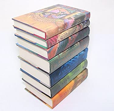 Complete HARRY POTTER Hardcover Book Set books: 1-7