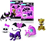 IMC TOYS 704079 - Monster High Set 3 Gomas De Borrar (surtido)