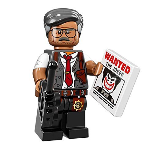 LEGO 71017 Minifigures Serie Batman Movie - COMMISSARIO Gordon Mini Action Figure