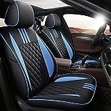 JYPZSH Fundas Asientos Coche Universales para BMW E39 F10 E60 F30 E46 E36 X1 E84 E90 Serie 1 E87 F20 E46 Tuning E60 X5 E53 F30 E70 Accesorios De Coche-Color 3