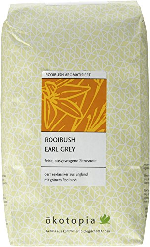 Ökotopia Roibusch Tee aromatisiert Rooibush Earl Grey, 1er Pack (1 x 500 g)