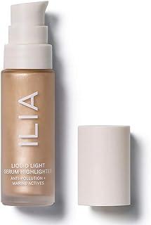 ILIA - Natural Liquid Light Serum Highlighter | Cruelty-Free, Vegan, Clean Beauty (Nova (Soft Gold))