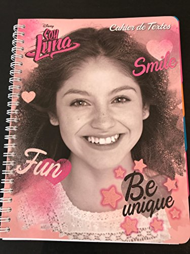 Cuaderno de textos de espirales soy Luna escolar