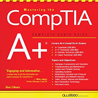 Mastering the CompTIA A+ cover art