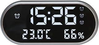 YIN YIN, habitación con Temperatura y Humedad de Alta precisión medidor de Temperatura y medidor de Humedad, LED for el ho...