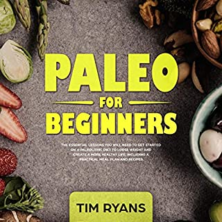 Paleo for Beginners audiobook cover art