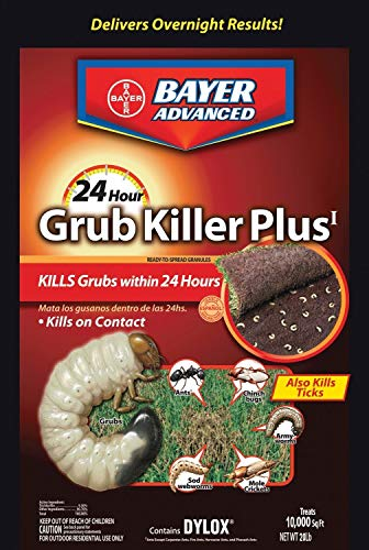 Bioadvanced 700745s 24 Hour Grub Killer Plus, Granules, 20 Lb