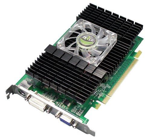Axle nVidia GeForce 8600 GT Grafikkarte (PCI-e, 1GB GDDR2 Speicher, DVI-D / VGA, 1 GPU)