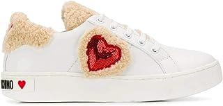 Moschino Luxury Fashion | Love Womens JA15543G08JDX100 White Sneakers | Fall Winter 19