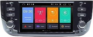 ZLTOOPAI Android 10 Autoradio für FIAT Linea Punto 2012 2015 Stereo Auto GPS Navigation Media Player Doppelte Din Head Unit mit IPS DSP Carplay