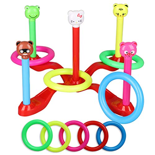 WLH- Huls Toys Huls plastic ring gooien spel Kindergarten Ouder-kind Interactive Props Kinderen Outdoor Sports (Color : B)