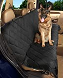 Epica - Deluxe Pet Bench Car Seat Cover, Quilted, Water Resistant, and Machine Washable ,Black (Item# 82247)-56'x47'