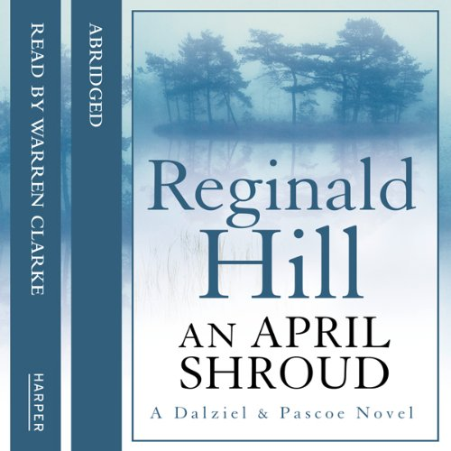 An April Shroud audiobook cover art