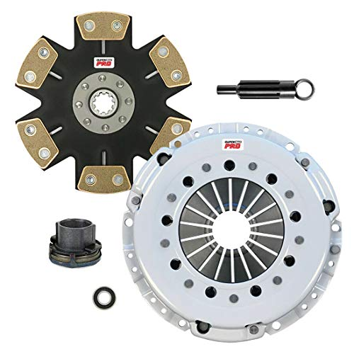 ClutchMaxPRO Performance Stage 5 Clutch Kit Compatible with 98-99 BMW 323, 92-95 325, 96-99 328, 91-95 525, 97-98 528, 95-99 M3, 97-98 Z3, 98-02 Z3 Coupe M Roaster