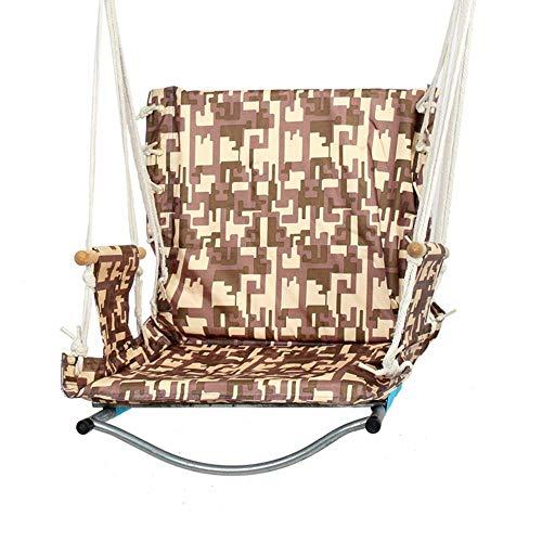 WangLx Swing Chair hangstoel, afmetingen: 60 x 47 x 56 cm, statische belasting 150 kg, voor binnen en buiten, tuin, studentenhuis, bar, woonkamer