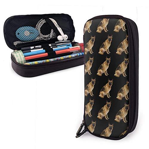 XCNGG Big Capacity Pencil Case Bag Stiftbeutelhalter Large Storage Stationery Organizer für Schulbedarf Office College (Such- und Rettungshund)