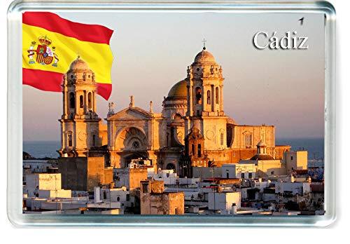 H287 Cádiz Imán para Nevera Spain Travel Fridge Magnet