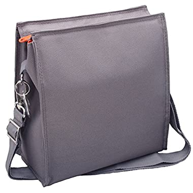 U Konserve - Insulated Lunch Tote, Sustainably Sourced, Keeps Food at Perfect Temperature, Machine Washable (Large, Slate)