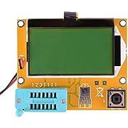 LCR-T4 Multifunktions Mega328 Transistor Tester Dioden Trioden Kapazitanz SCR Induktivität ESR Meter mit großer Hintergrundbeleuchtung LCD 12864