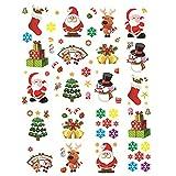 Imagen de 20 Hojas Pegatinas Navidad Vinilos
