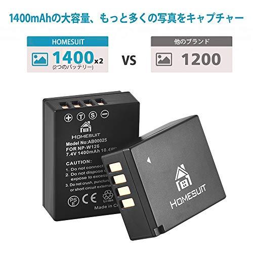 Homesuit(ホームスーツ)『交換用バッテリーおよびデュアルUSB充電器キット』