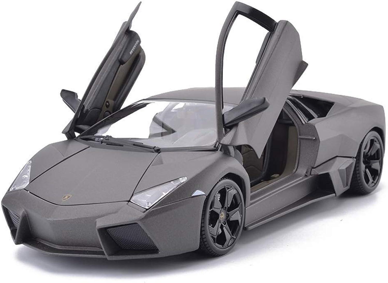 connotación de lujo discreta AGWa Modelo a escala Modelo Modelo Modelo de vehículo de simulación Vehículo 1 18 Coche deportivo Diecast Modelo de coche de metal Modelo estático Colección Adornos de juguete para regalo  nuevo estilo