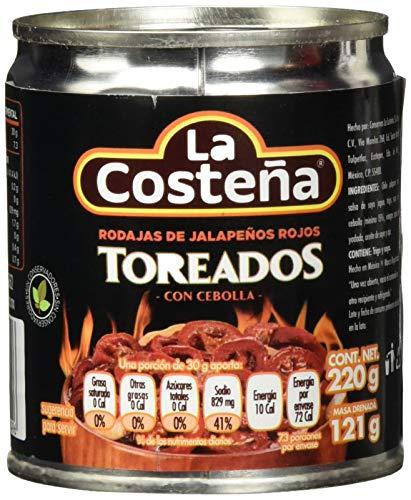La Costena Jalapeno Nacho rot gegrillt, 24-er Packung